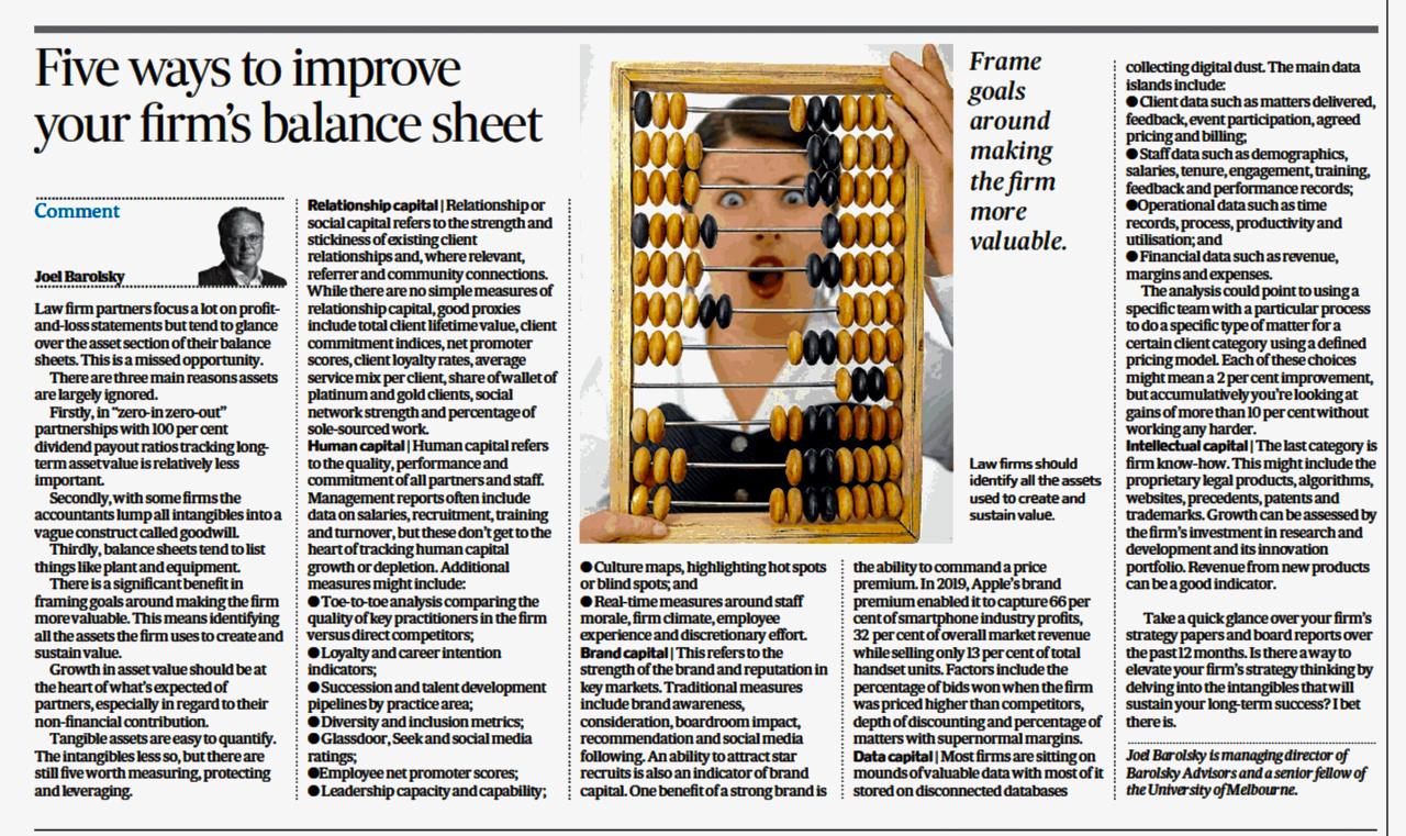 AFR 7 Feb 20 Balance Sheet